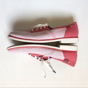 Keds Shoes - KEDS striped red and white oxford style sneaker S3